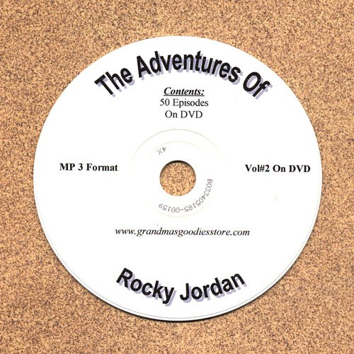 OLD TIME RADIO OTR THE ADVENTURES OF ROCKY JORDAN VOL#2