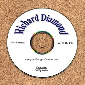 OLD TIME RADIO OTR RICHARD DIAMOND VOL #1