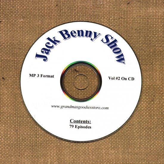 OLD TIME RADIO OTR   JACK BENNY SHOW  VOL#2 79 SHOWS