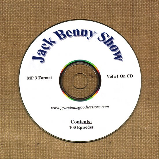 OLD TIME RADIO OTR   JACK BENNY SHOW  VOL#1 100 SHOWS
