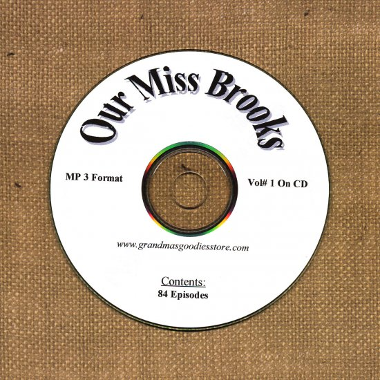 OLD TIME RADIO OTR  OUR MISS BROOKS VOL#1 84 EPISODES