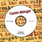 OLD TIME RADIO OTR  CAPTAIN MIDNIGHT 100 EPISODES