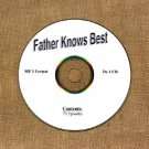 OLD TIME RADIO OTR    FATHER KNOWS BEST  73 EPISODES