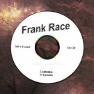 OLD TIME RADIO OTR   FRANK RACE 43 GREAT EPISODES