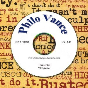 OLD TIME RADIO OTR   PHILO VANCE 93 EPISODES