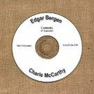 OLD TIME RADIO SHOWS   E. BERGEN & C. McCARTHY VOL #2