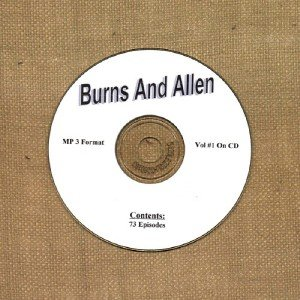 OLD TIME RADIO OTR  BURNS AND ALLEN VOL #1  73 EPISODES