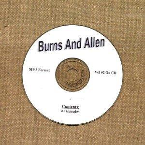 OLD TIME RADIO OTR  BURNS AND ALLEN VOL #2  81 EPISODES