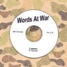 OLD TIME RADIO OTR    WORDS AT WAR   89 EPISODES