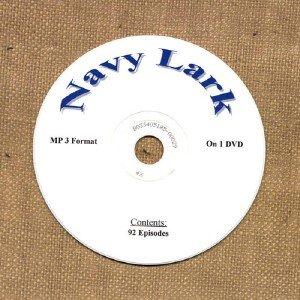 OLD TIME RADIO OTR    NAVY LARK   92  EPISODES ON DVD