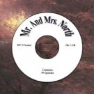 OLD TIME RADIO OTR   MR. & MRS. NORTH  59 EPISODES