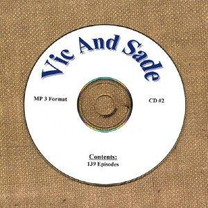 OLD TIME RADIO OTR  VIC AND SADE CD #2  139  EPISODES