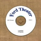 OLD TIME RADIO OTR  FORD THEATER  CD #1  27 EPISODES