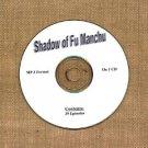 OLD TIME RADIO OTR  SHADOW OF FU MANCHU  39  EPISODES