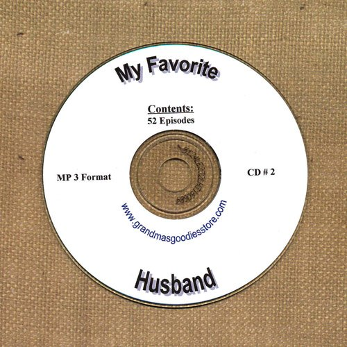 OLD TIME RADIO OTR  MY FAVORITE HUSBAND  CD #2  52 EPISODES