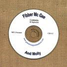 OLD TIME RADIO OTR  FIBBER McGREE & MOLLY CD #3 85  EPISODES