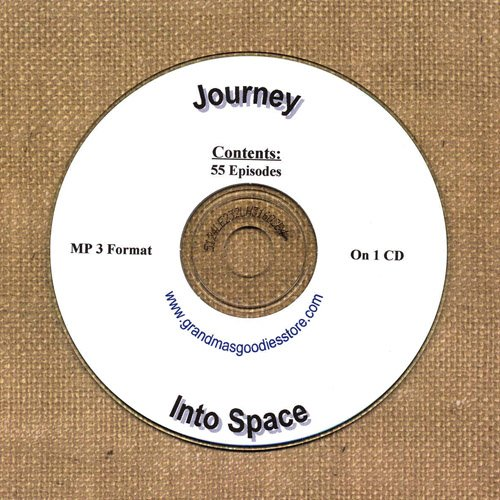 OLD TIME RADIO OTR  JOURNEY INTO SPACE  ON CD  55  EPISODES