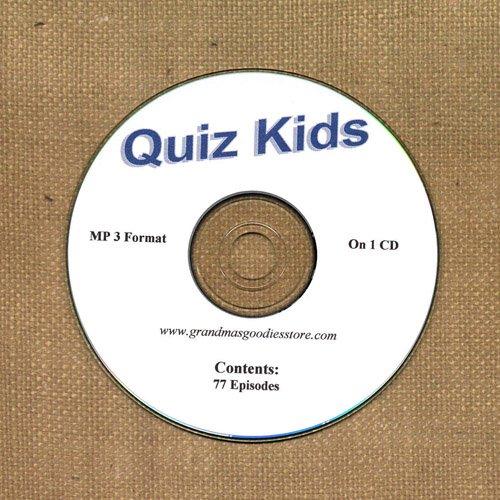 OLD TIME RADIO OTR  QUIZ KIDS  77  EPISODES
