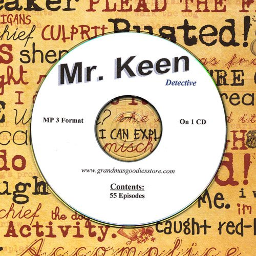 OLD TIME RADIO OTR  MR KEEN DETECTIVE  55  EPISODES