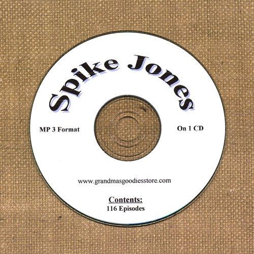 OLD TIME RADIO OTR  SPIKE JONES  116 EPISODES  ON CD