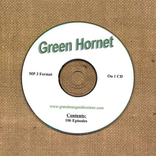 OLD TIME RADIO OTR  GREEN HORNET  106  EPISODES  ON CD