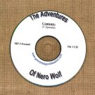 OLD TIME RADIO OTR  THE ADVENTURES OF NERO WOLF  21  EPISODES  ON CD
