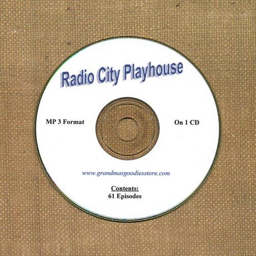 OLD TIME RADIO OTR  RADIO CITY PLAYHOUSE  61 EPISODES  ON CD