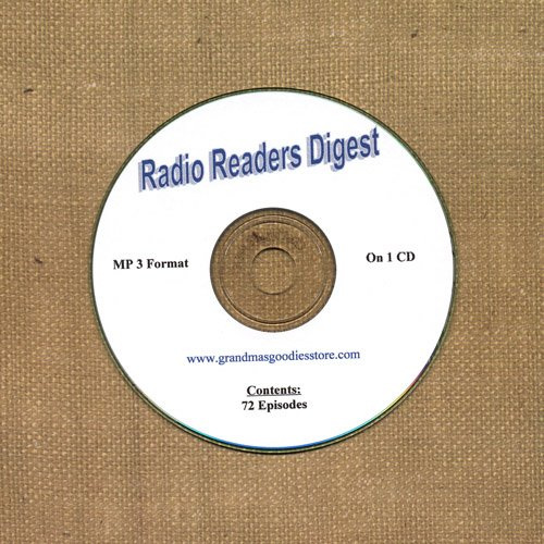 OLD TIME RADIO OTR  RADIO READERS DIGEST  72  EPISODES  ON CD