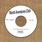 OLD TIME RADIO SHOWS   WORLD ADVENTURES CLUB  32  EPISODES  ON CD