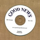 OLD TIME RADIO OTR    GOOD NEWS  48 GREAT EPISODES  EPISODES ON CD