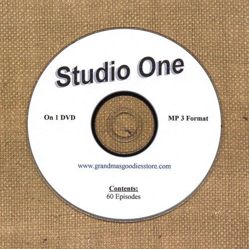OLD TIME RADIO  OTR   STUDIO ONE  60 EPISODES ON DVD
