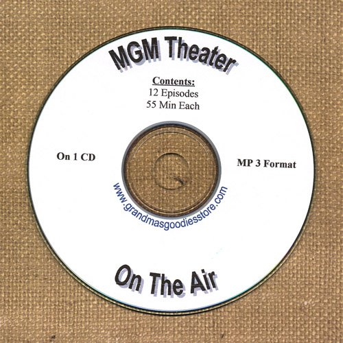 OLD TIME RADIO  OTR   M.G.M. THEATER ON THE AIR  12 EPS
