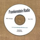 OLD TIME RADIO  OTR  FRANKENSTEIN RADIO SHOW  18 EPS.