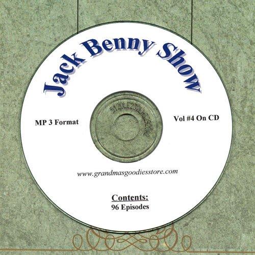 OLD TIME RADIO  OTR  JACK BENNY SHOW  VOL#4 96 SHOWS