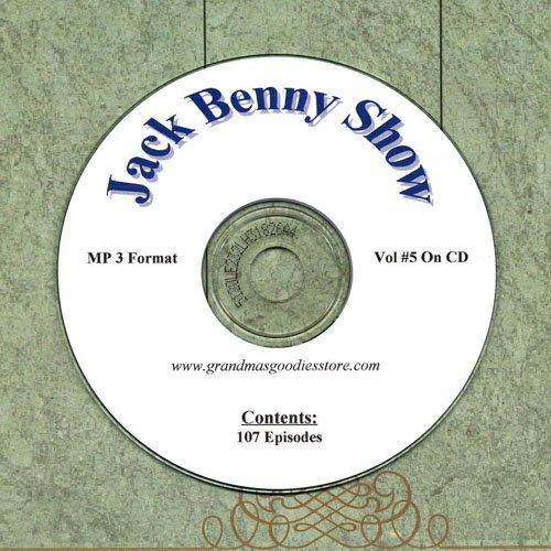 OLD TIME RADIO  OTR  JACK BENNY SHOW  VOL#5 107 SHOWS