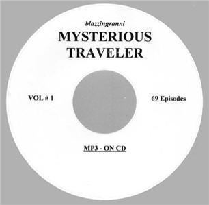 OLD TIME RADIO  OTR   MYSTERIOUS TRAVELER  69 EPISODES