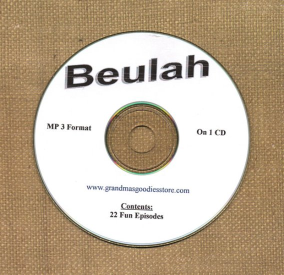 OLD TIME RADIO SHOWS   BEULAH  22 EPS.  OTR