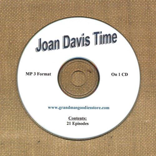 OLD TIME RADIO SHOWS   JONE DAVIS TIME 21 EPS. ON CD  OTR
