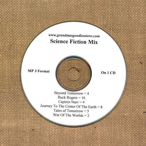 OLD TIME RADIO SHOWS SCI - FI  MIX  39 EPS. ON CD OTR