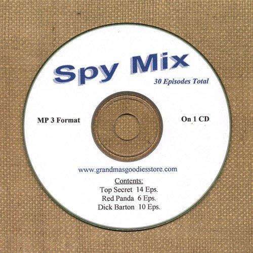 OLD TIME RADIO SHOWS  SPY MIX  30 EPS. ON CD OTR