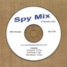 OLD TIME RADIO SHOWS  SPY MIX  30 EPS. ON CD OTR