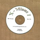 OLD TIME RADIO SHOWS  X - MINUS ONE 123 EPS. ON CD OTR
