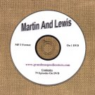 OLD TIME RADIO SHOWS  MARTIN AND LEWIS 79 EPS. ON DVD OTR