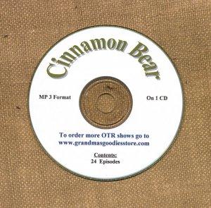 OLD TIME RADIO SHOWS  CINNAMON BEAR 24 EPS. ON CD OTR