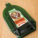 Jagermeister Liqueur Flattened (slumped) Liqueur/wine bottle