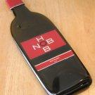 Hob Nob Red Blend Wine Bottle Flattened (slumped) Liqueur/wine bottle