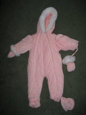 Girls 18M Pink Snow Suit