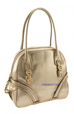350$,JUICY COUTURE handbag ,Brand New,AUTHENTIC-Golden Juicy Couture 'Mod Lovely' Dome Satchel