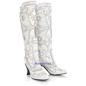 ANNA SUI BUTTERFLY BOOTS,SIZE IT 39,US 9