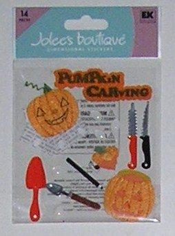 Jolee's Boutique PUMPKIN CARVING Halloween Dimensional Stickers